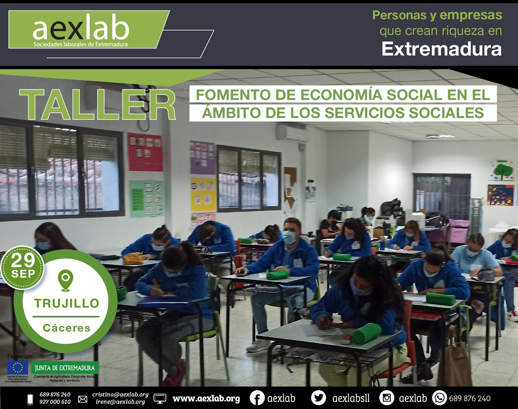 Alumnos taller trujillo ambito social aexlab 2020-03