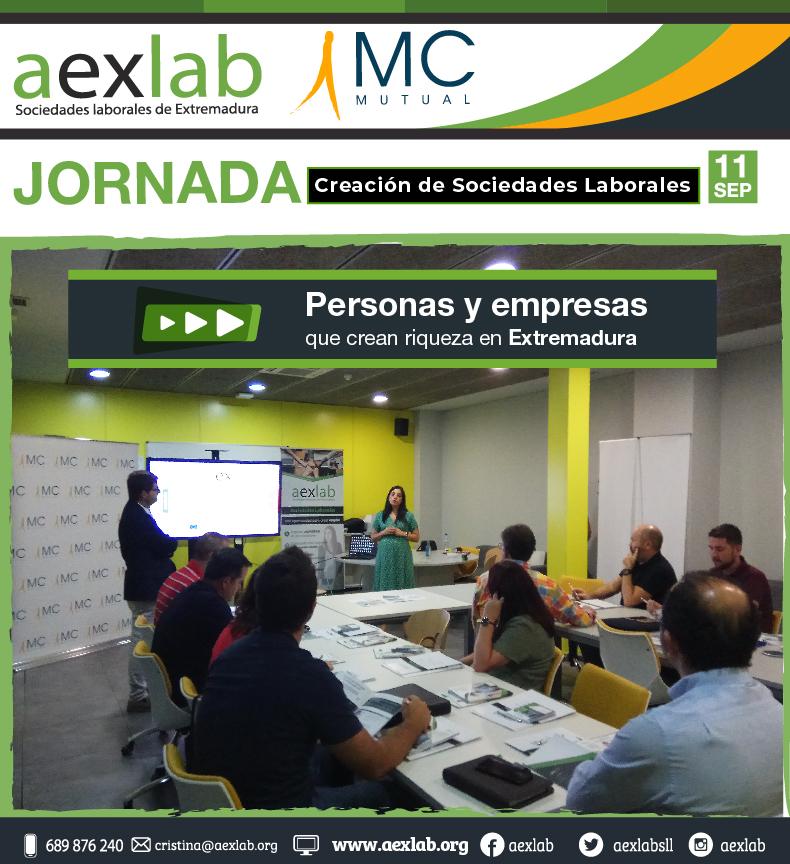 Asistentes jornada creacion de sociedades laborales aexlab-mcmutual-01