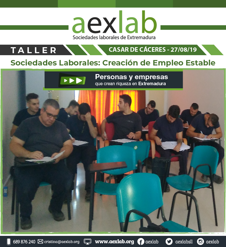 Asistentes jornada sociedades laborales casar de caceres aexlab-01