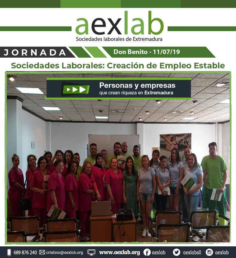 Asistentes jornada sociedades laborales don benito aexlab-01