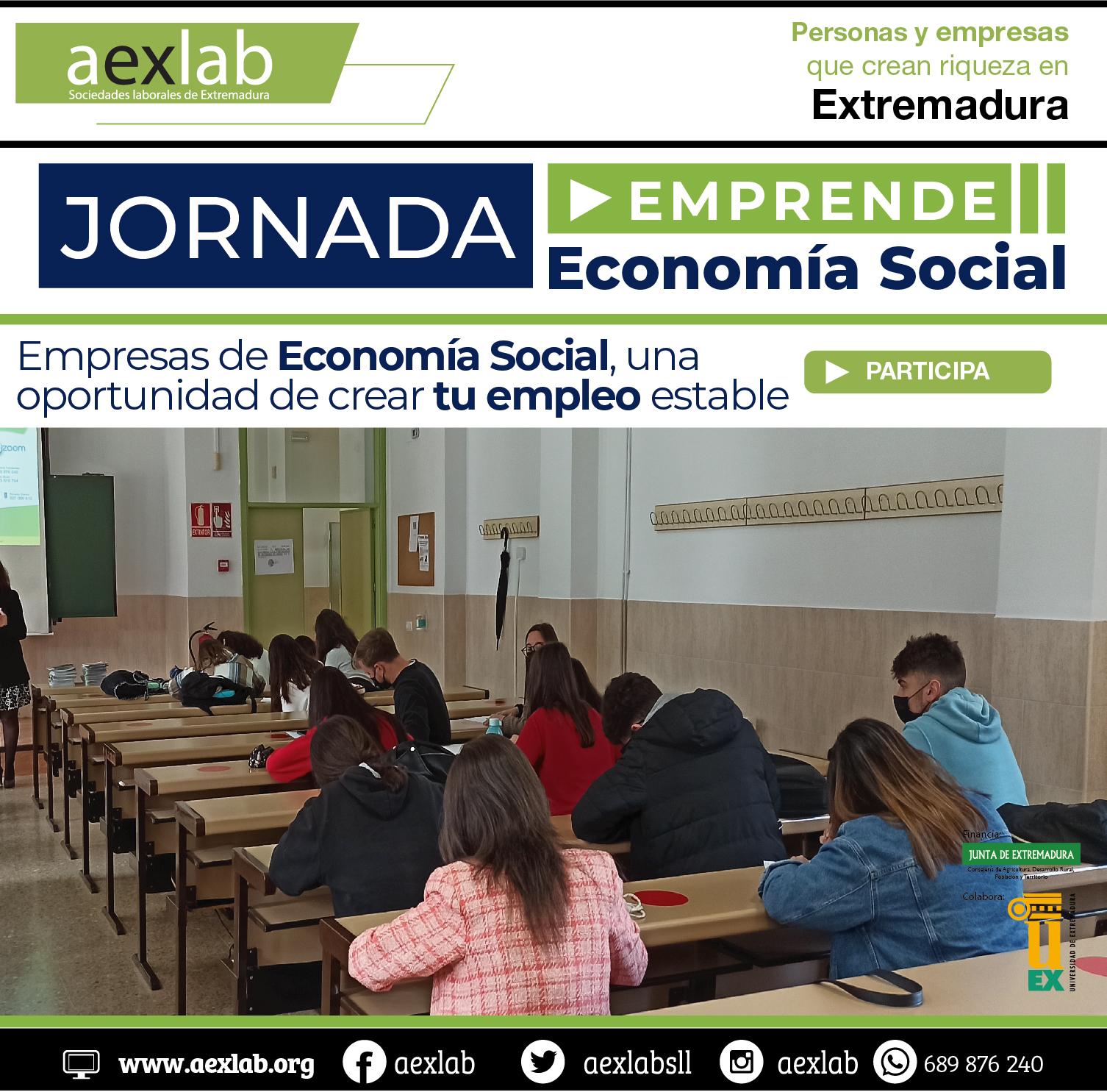 Asistentes jornada universidad extremadura aexlab economia social-05