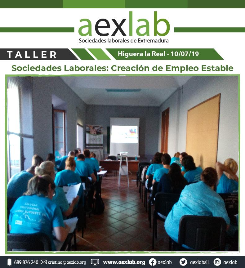 Asistentes taller higuera la real sociedades laborales aexlab-02