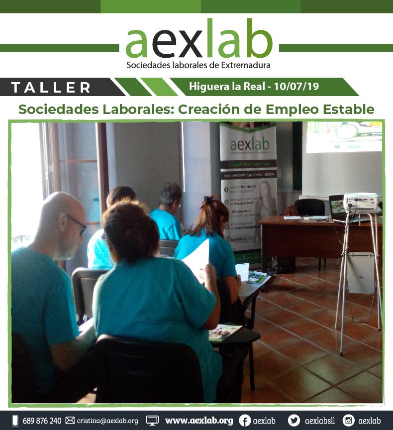 Asistentes taller higuera la real sociedades laborales aexlab-03