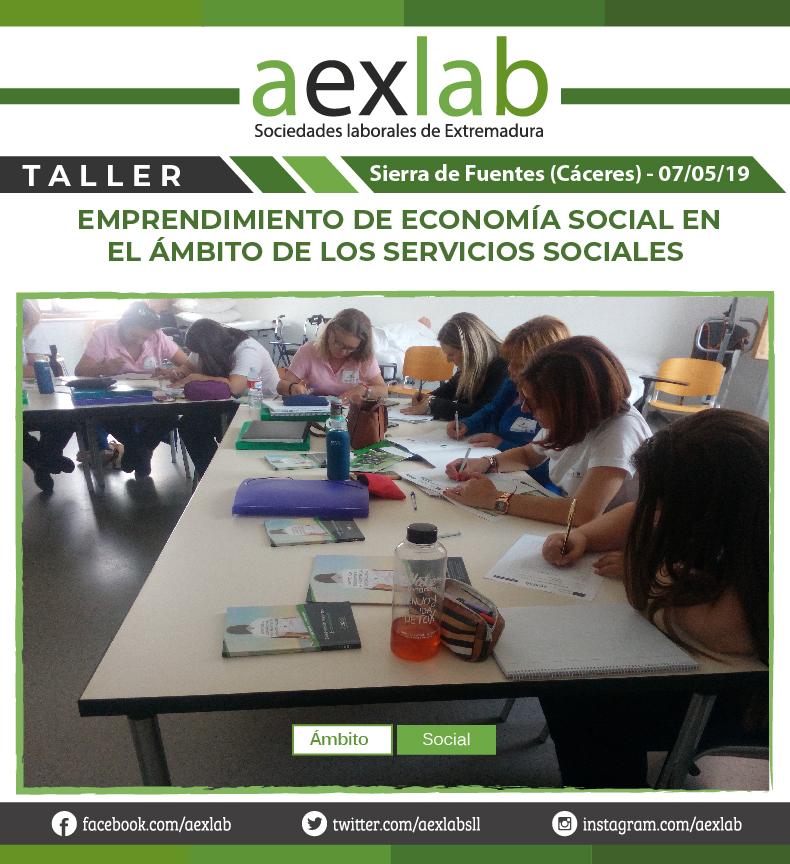 Asistentes taller sierra de fuentes ambito social aexlab-03