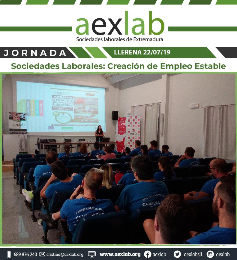 Asistentes taller sociedades laborales llerena aexlab-01