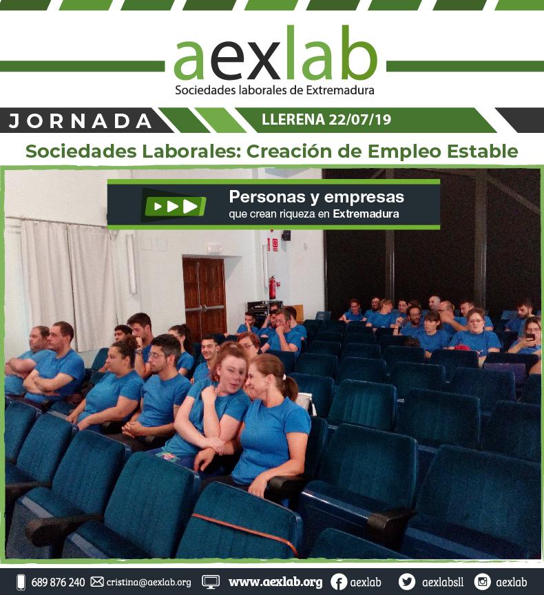 Asistentes taller sociedades laborales llerena aexlab-02