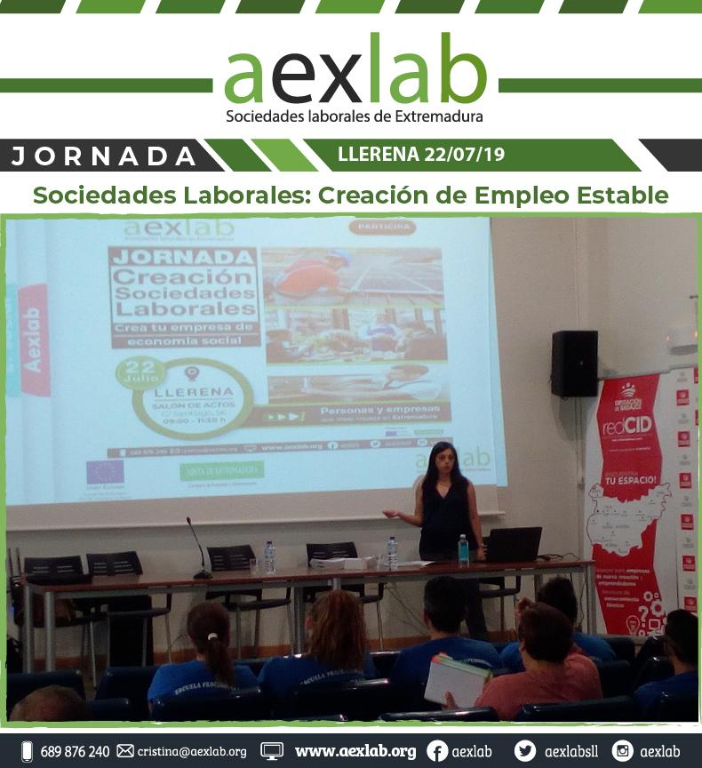 Asistentes taller sociedades laborales llerena aexlab-03