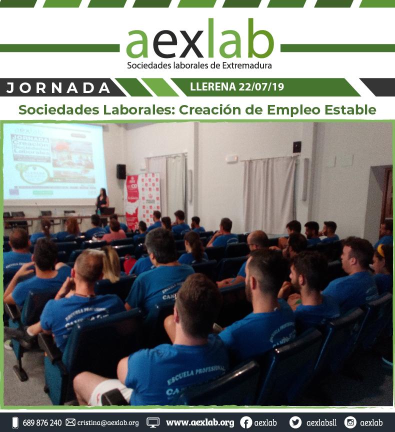 Asistentes taller sociedades laborales llerena aexlab-04