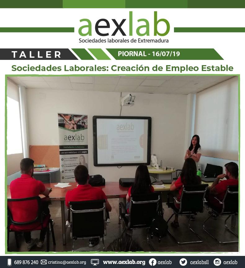 Asistentes taller sociedades laborales pional aexlab-02