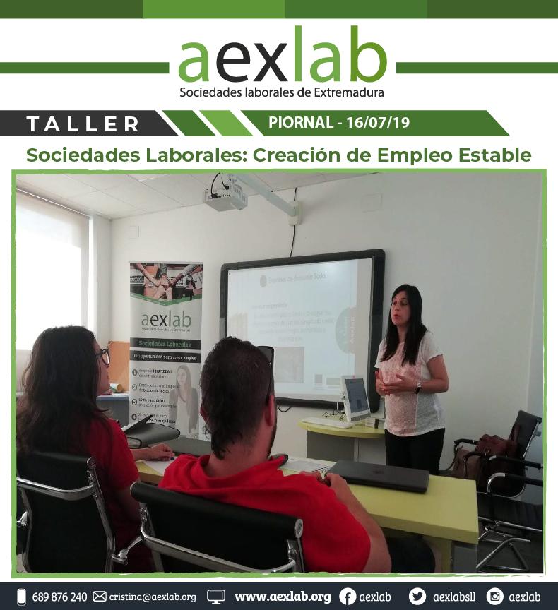 Asistentes taller sociedades laborales pional aexlab-03