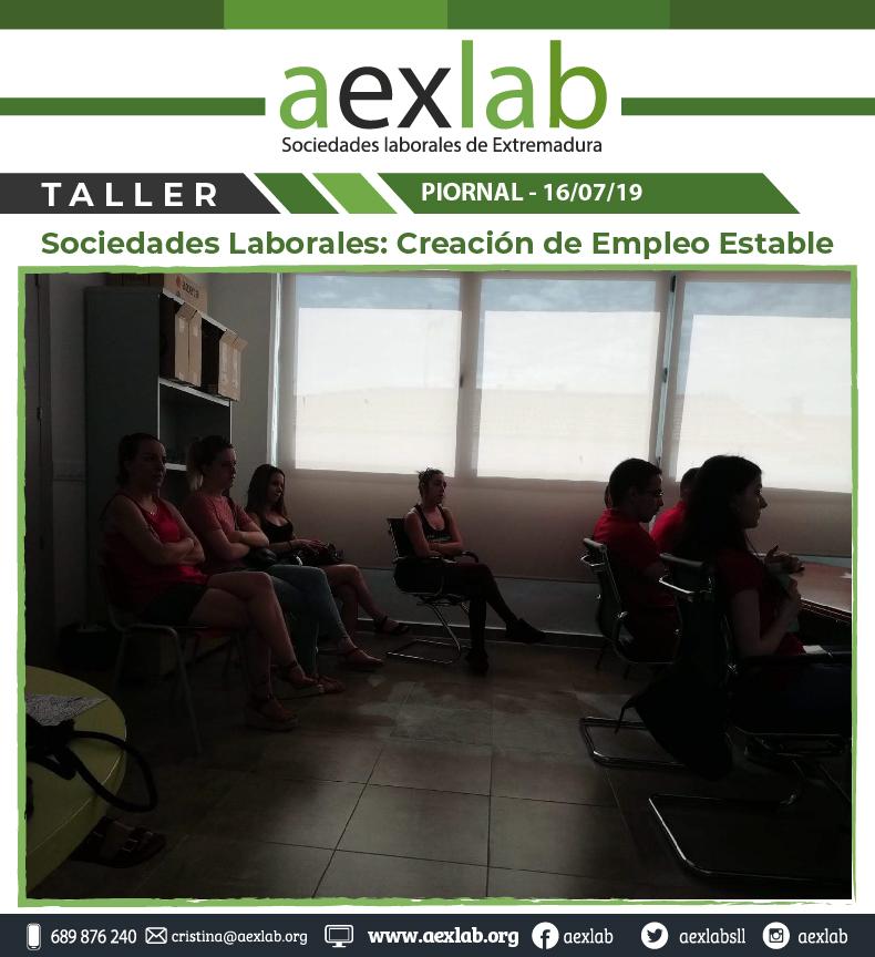 Asistentes taller sociedades laborales pional aexlab-04