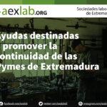 Ayudas destinadas a promover la continuidad de las Pymes de Extremadura