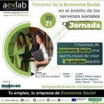 Jornada Fomento de la Economía Social en el ámbito de los servicios sociales, Cáceres.