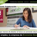 AEXLAB y el Ayuntamiento de Plasencia firman un convenio para apoyar el desarrollo de empresas de economía social en Plasencia