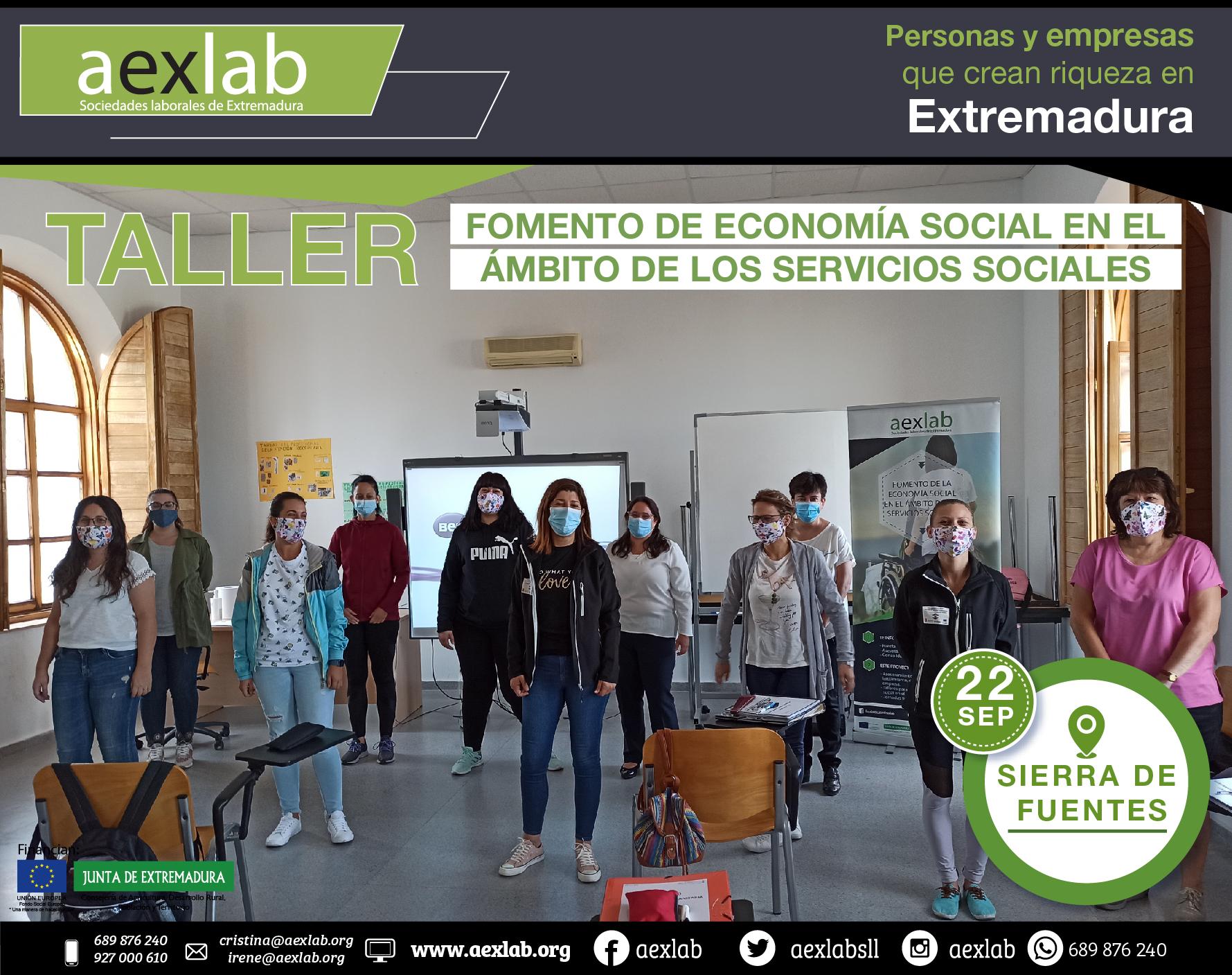 Fotos grupo taller ambito social AEXLAB 2020-01