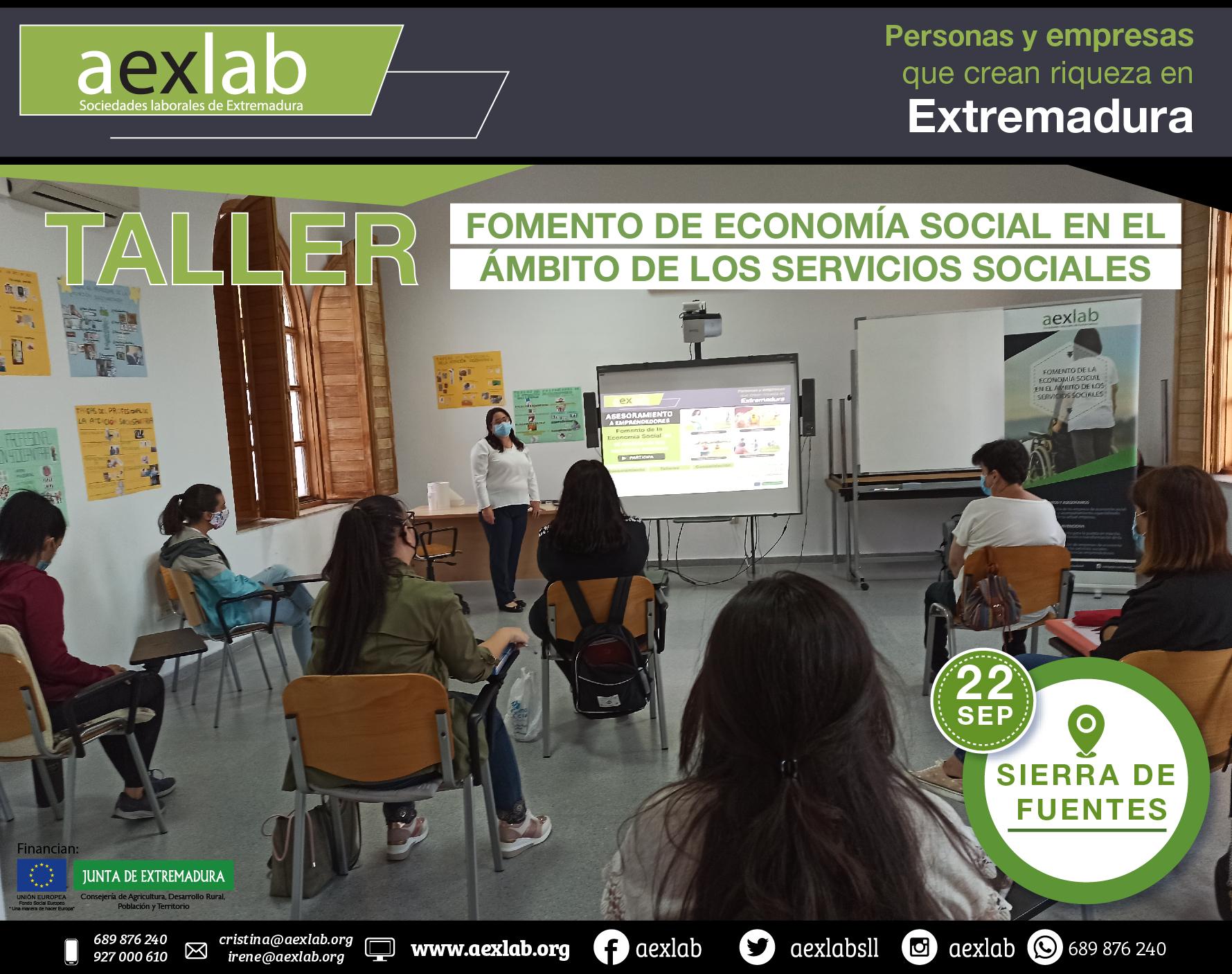 Fotos grupo taller ambito social AEXLAB 2020-02