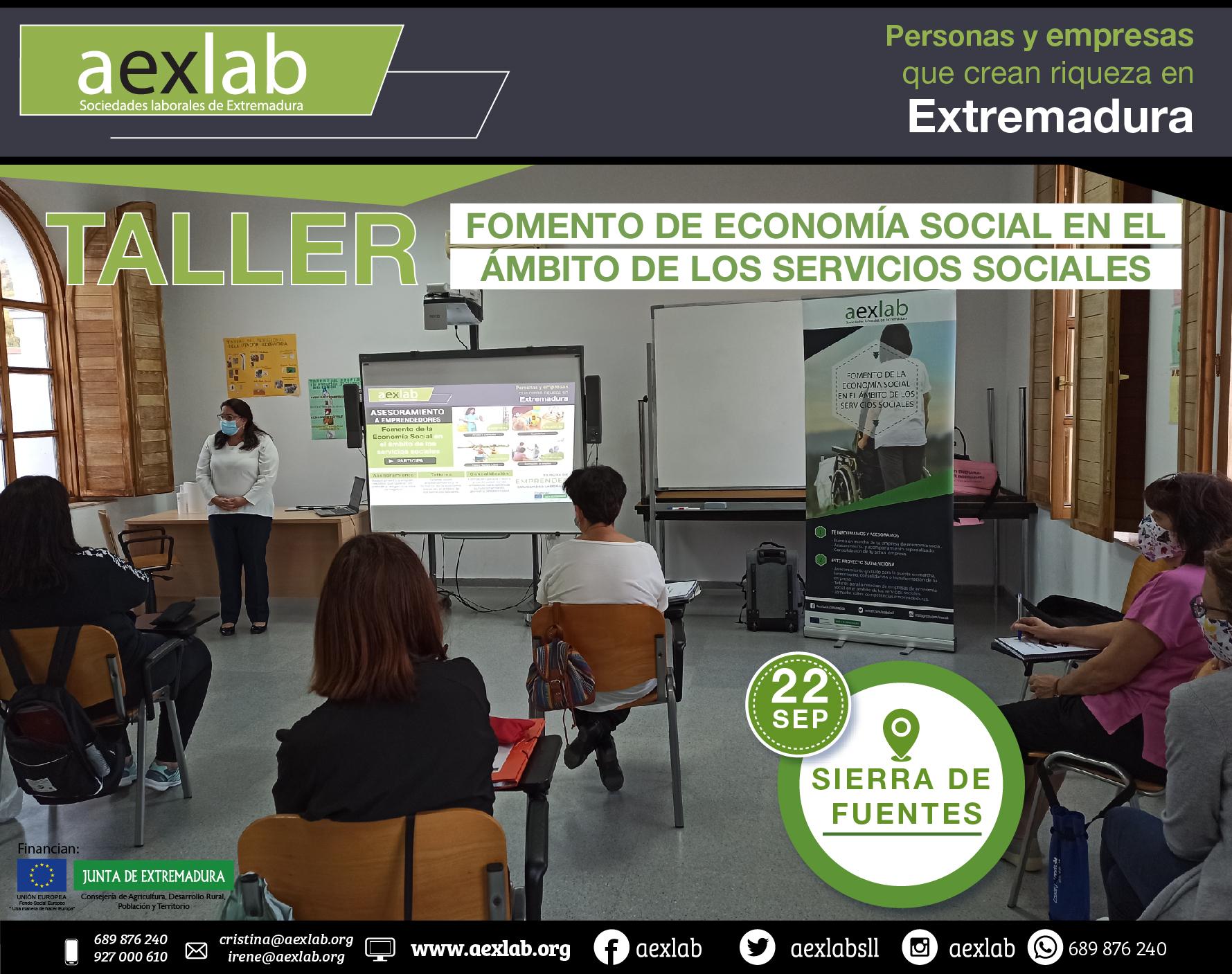 Fotos grupo taller ambito social AEXLAB 2020-04