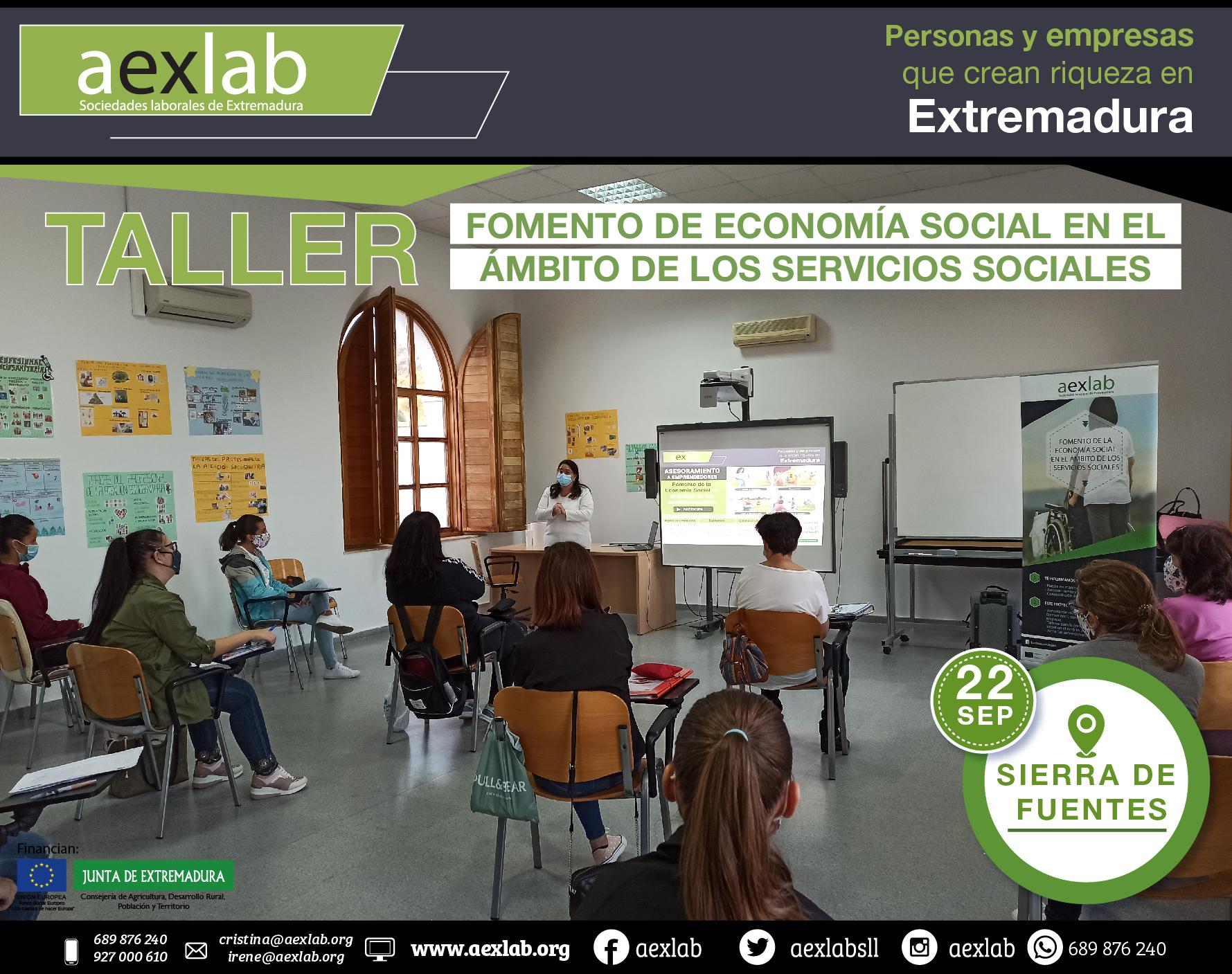Fotos grupo taller ambito social AEXLAB 2020-05