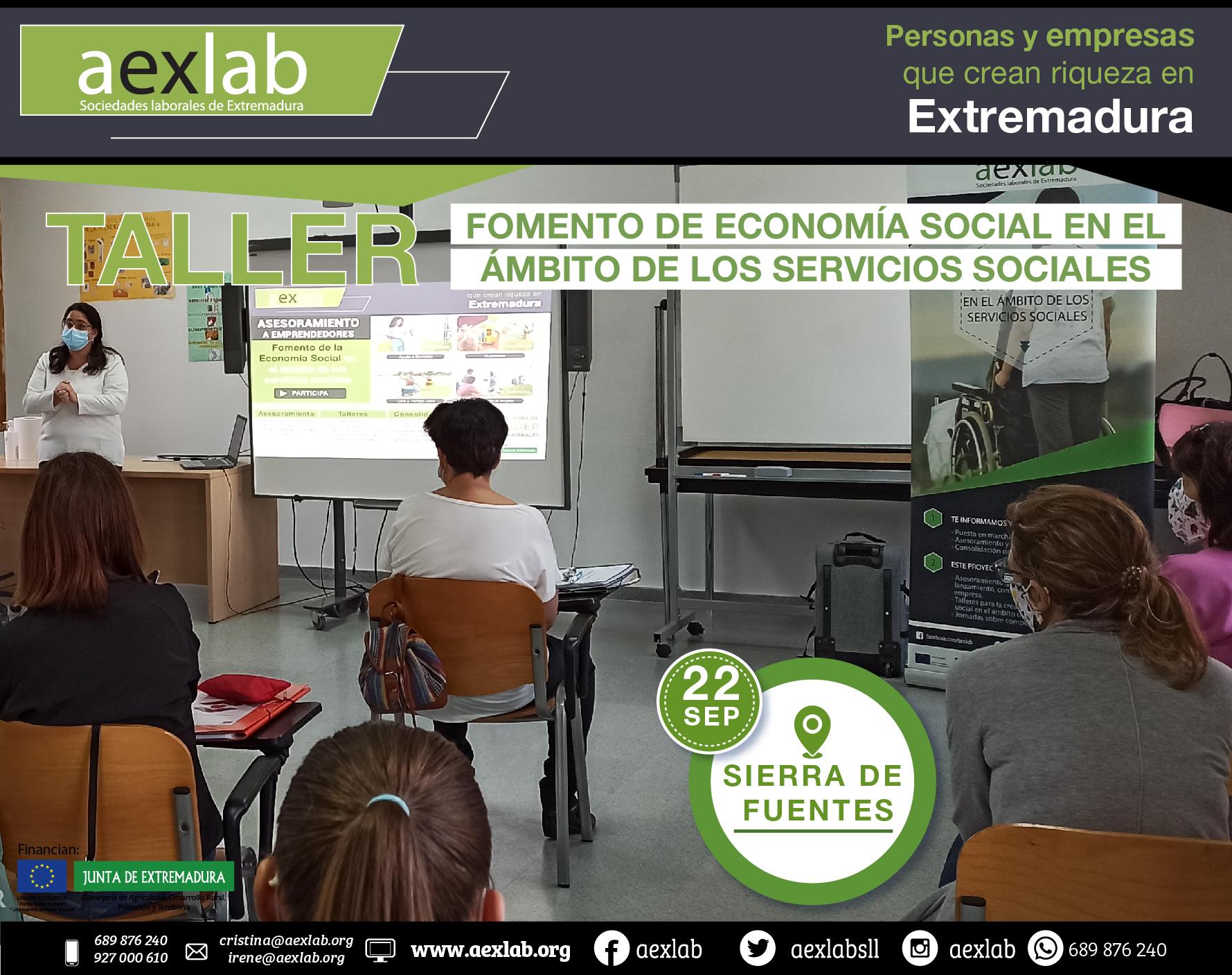 Fotos grupo taller ambito social AEXLAB 2020-06