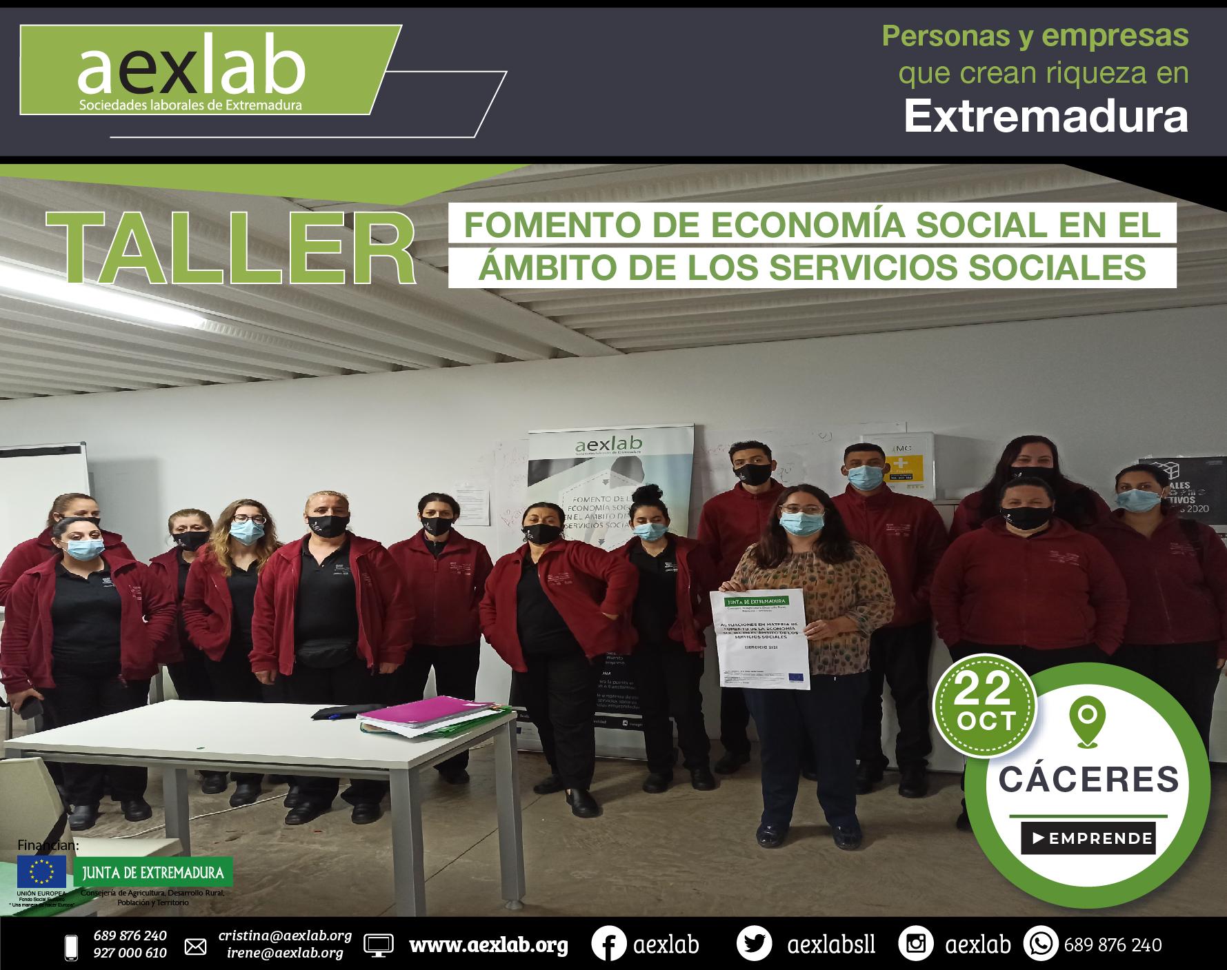 Fotos grupo taller ambito social Cáceres aexlab-01