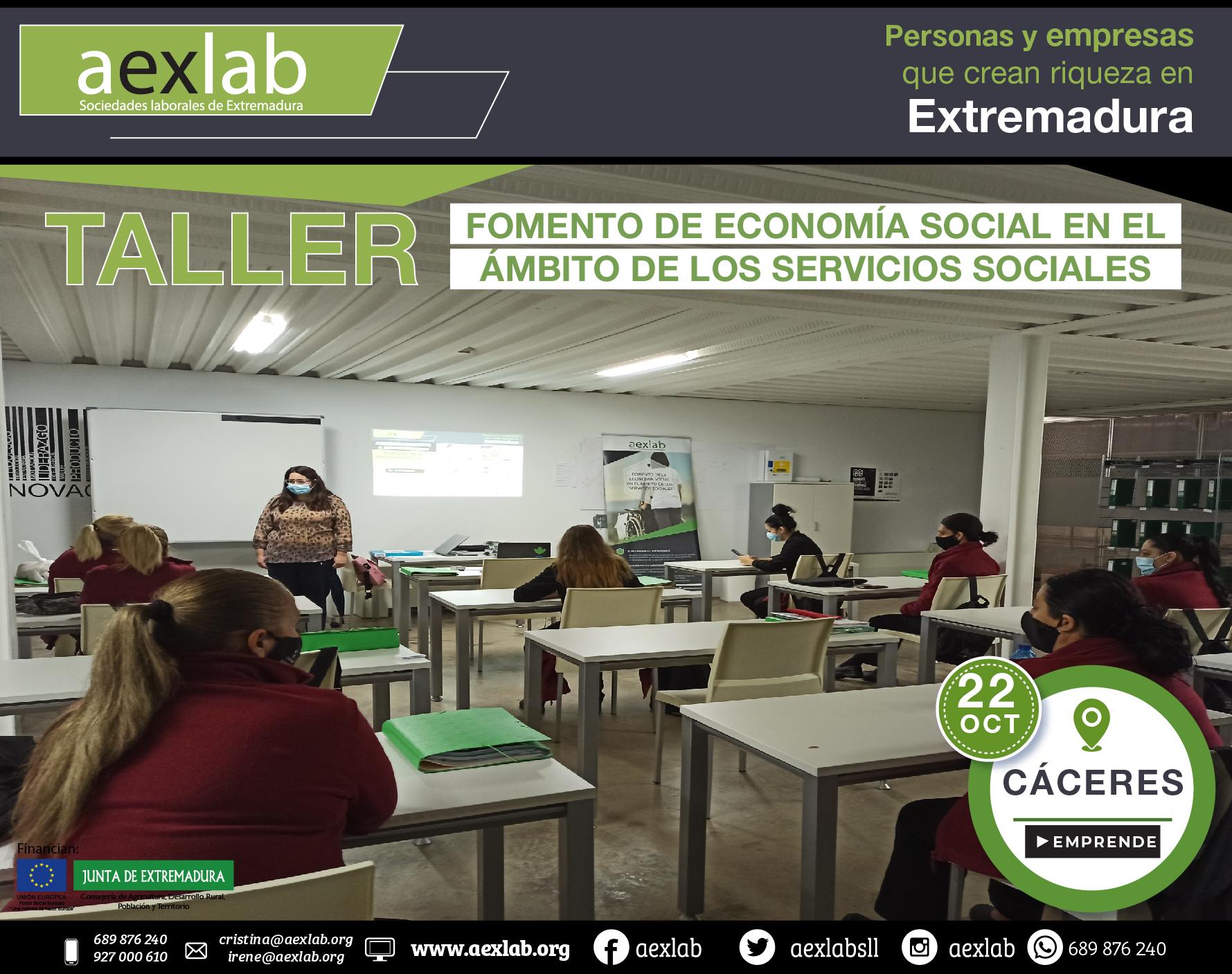 Fotos grupo taller ambito social Cáceres aexlab-02