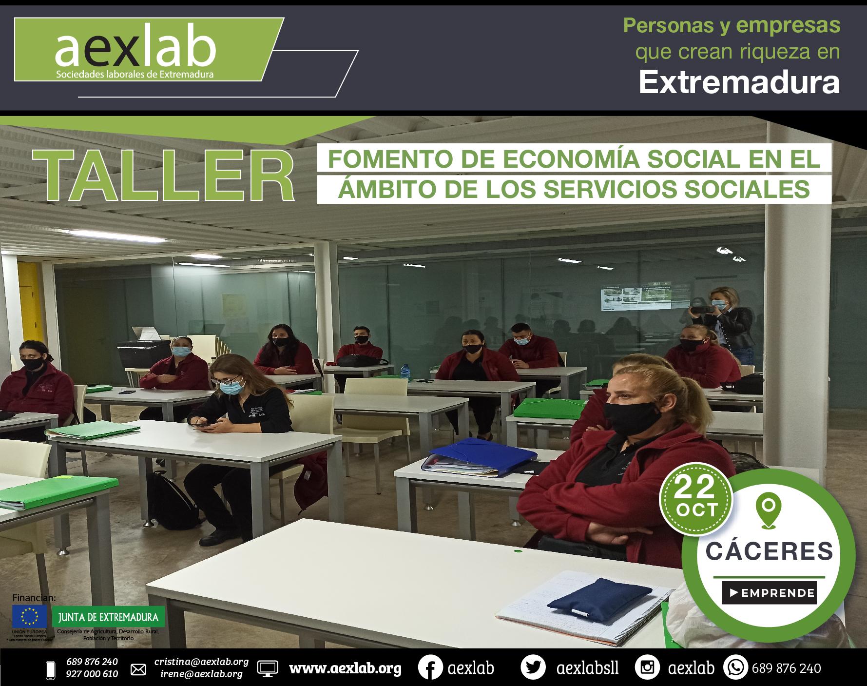 Fotos grupo taller ambito social Cáceres aexlab-03