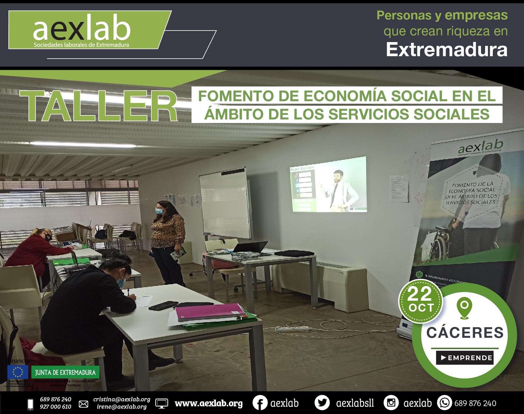 Fotos grupo taller ambito social Cáceres aexlab-04