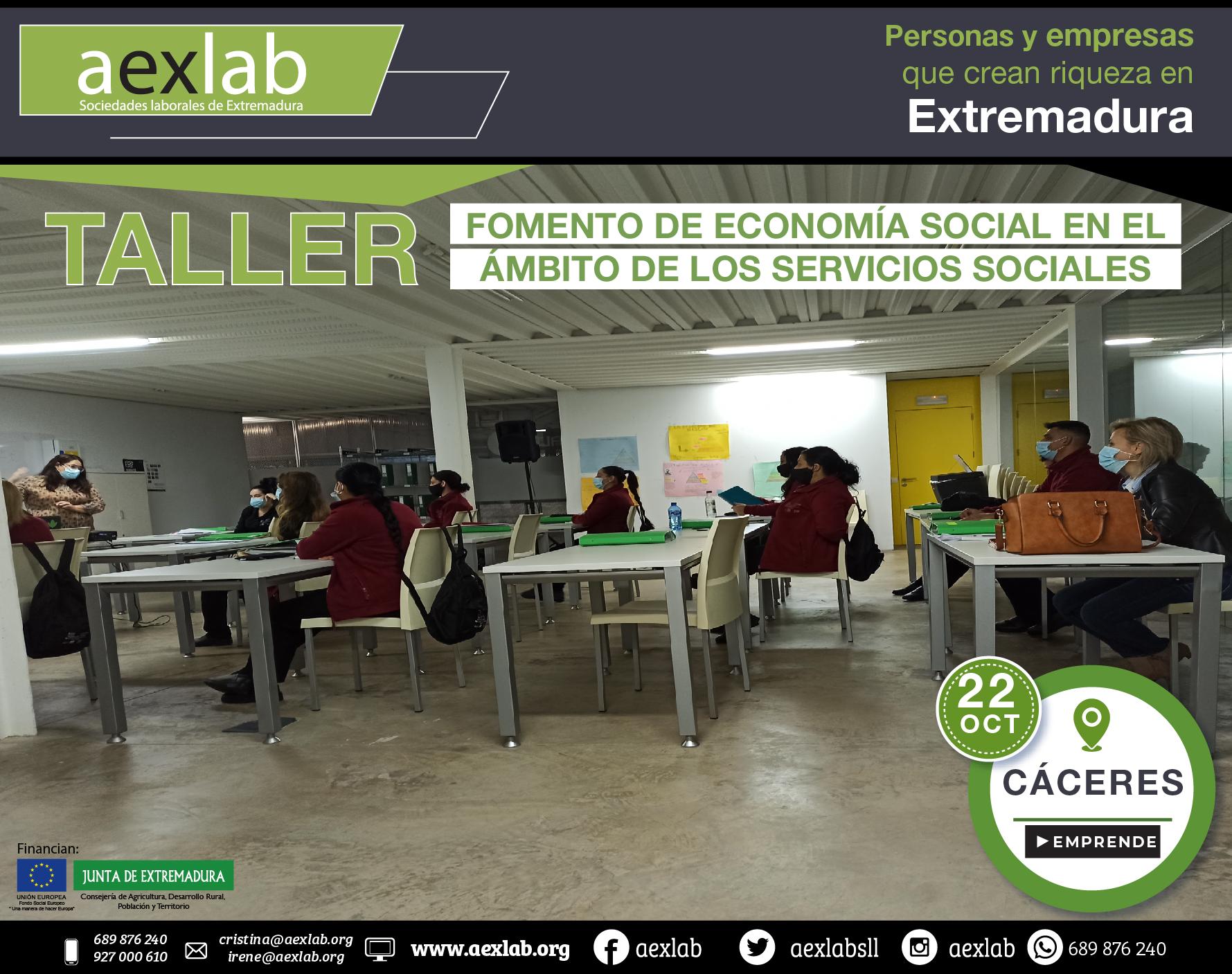 Fotos grupo taller ambito social Cáceres aexlab-05