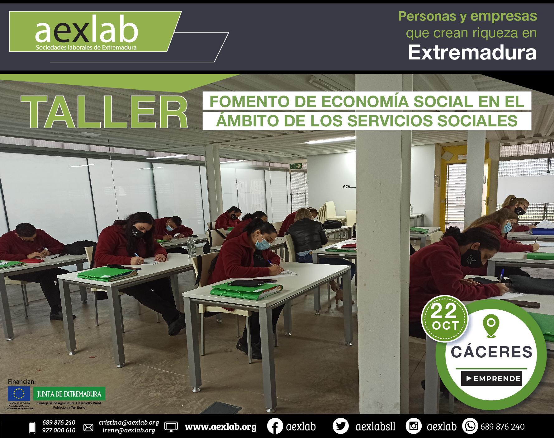 Fotos grupo taller ambito social Cáceres aexlab-06