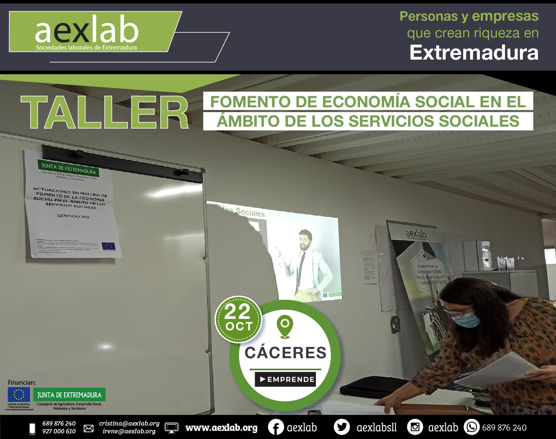 Fotos grupo taller ambito social Cáceres aexlab-07