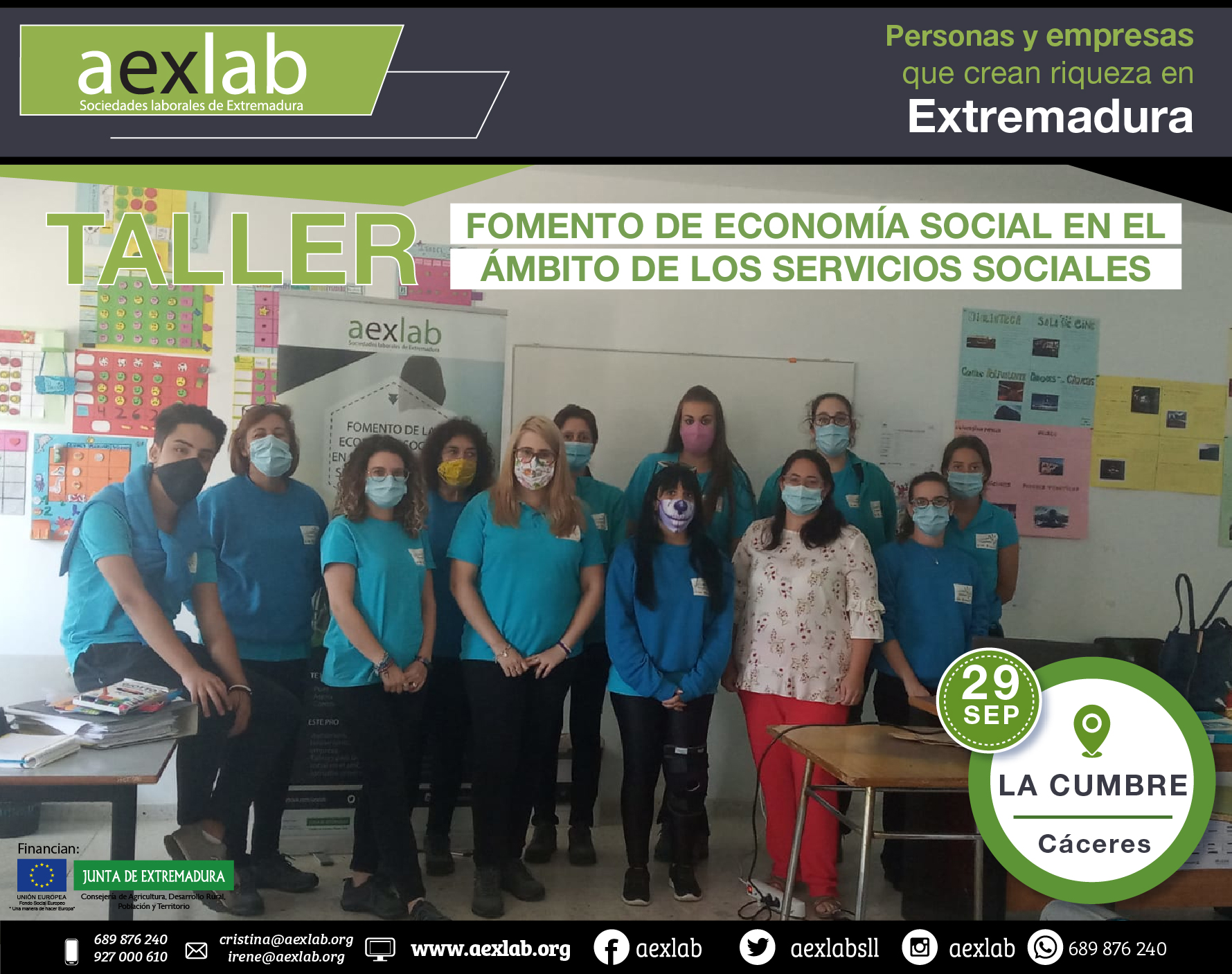 Fotos grupo taller ambito social la cumbre aexlab 2020-01
