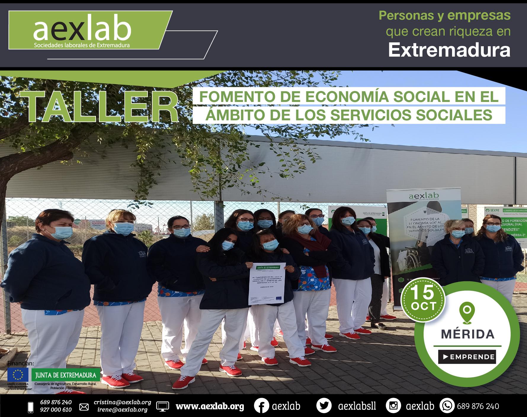 Fotos grupo taller fomento de la economia social ambito social merida aexlab-01
