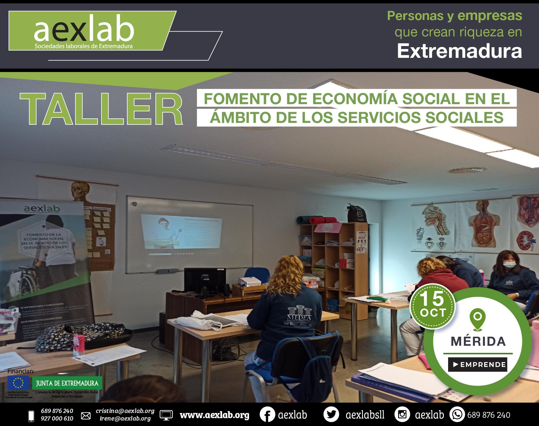 Fotos grupo taller fomento de la economia social ambito social merida aexlab-02
