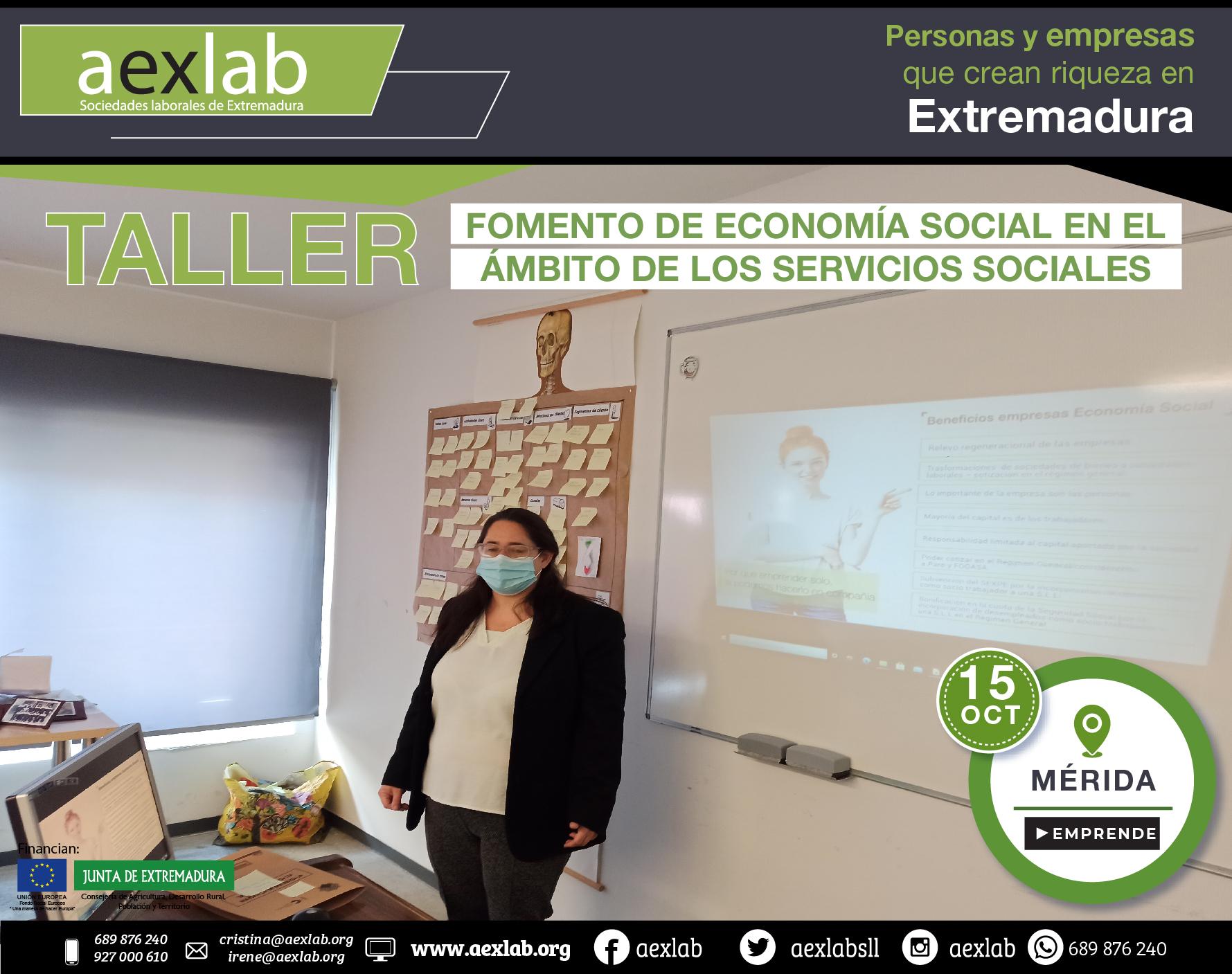 Fotos grupo taller fomento de la economia social ambito social merida aexlab-03