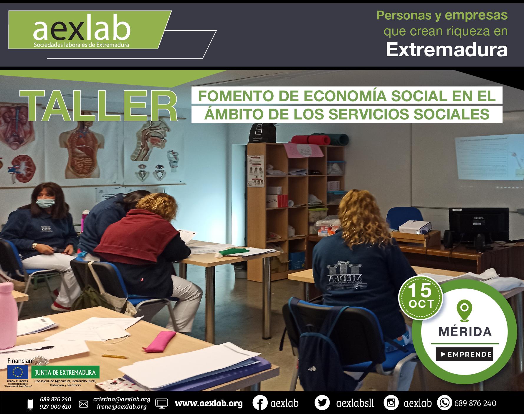 Fotos grupo taller fomento de la economia social ambito social merida aexlab-04