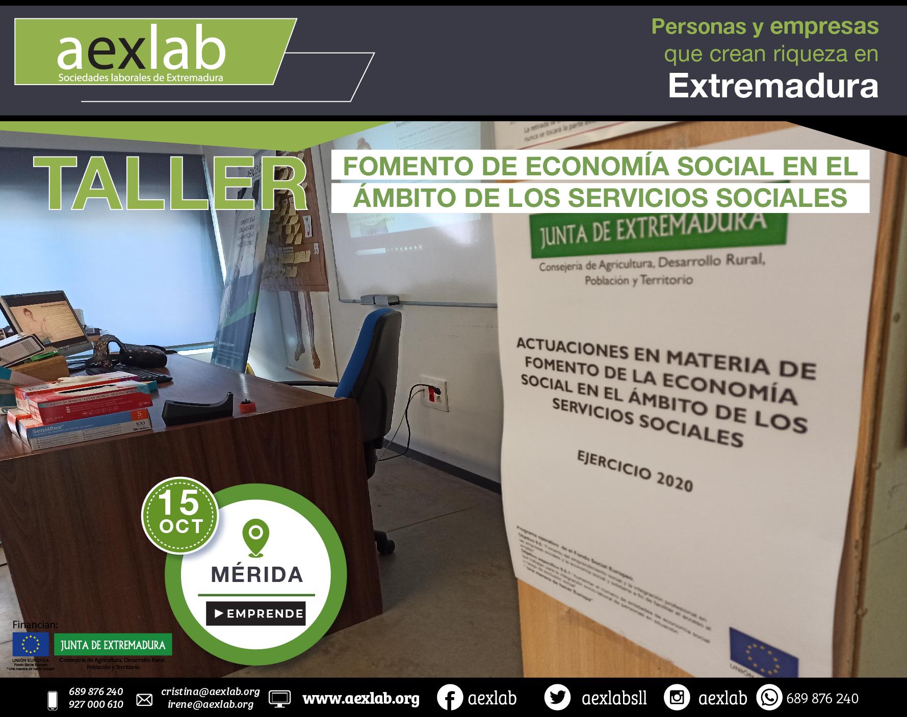 Fotos grupo taller fomento de la economia social ambito social merida aexlab-05