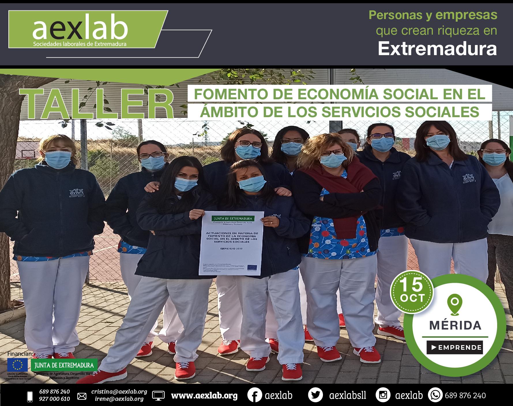 Fotos grupo taller fomento de la economia social ambito social merida aexlab-06