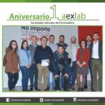 AEXLAB celebra su primer aniversario.