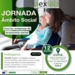 Jornada creación de empresas en el ámbito social en Coria