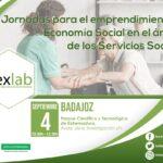 Jornadas para el emprendimiento de Economía Social en el ámbito de los Servicios Sociales. Badajoz.