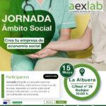 Jornada creación de empresas en el ámbito social La Albuera