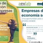 Taller «Empresas de Economía Social: Una oportunidad para crear tu empleo estable»