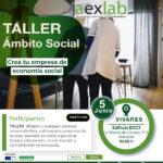 Taller creación de empresas en el ámbito social en Vivares.
