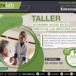Taller Fomento de la Economía Social en el ámbito social, Montijo.