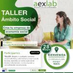 Taller creación de empresas en el ámbito social en Bienvenida