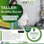 Taller creación de empresas en el ámbito social en Zahinos.