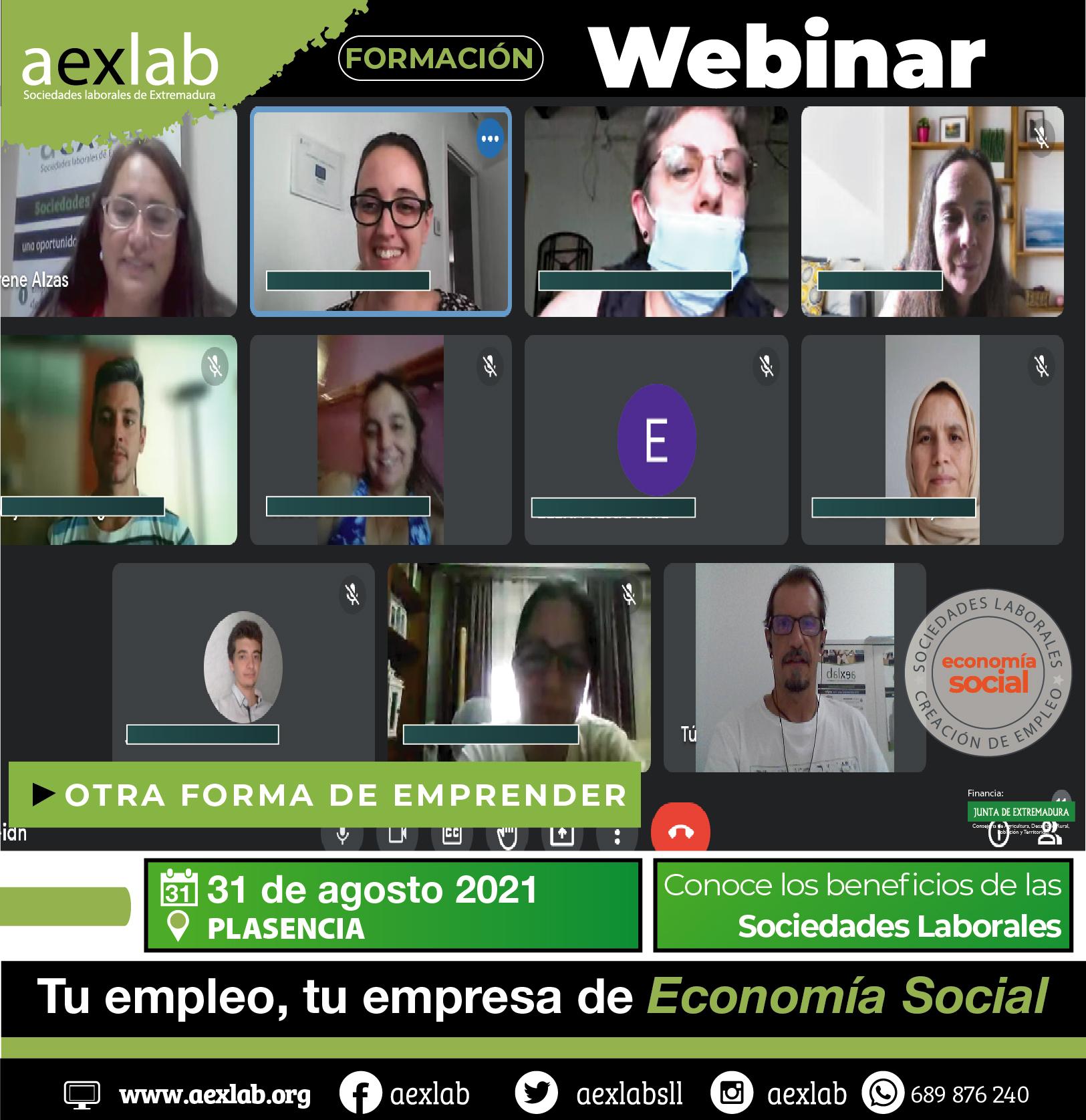 asistentes Webinar plasencia_asistentes taller