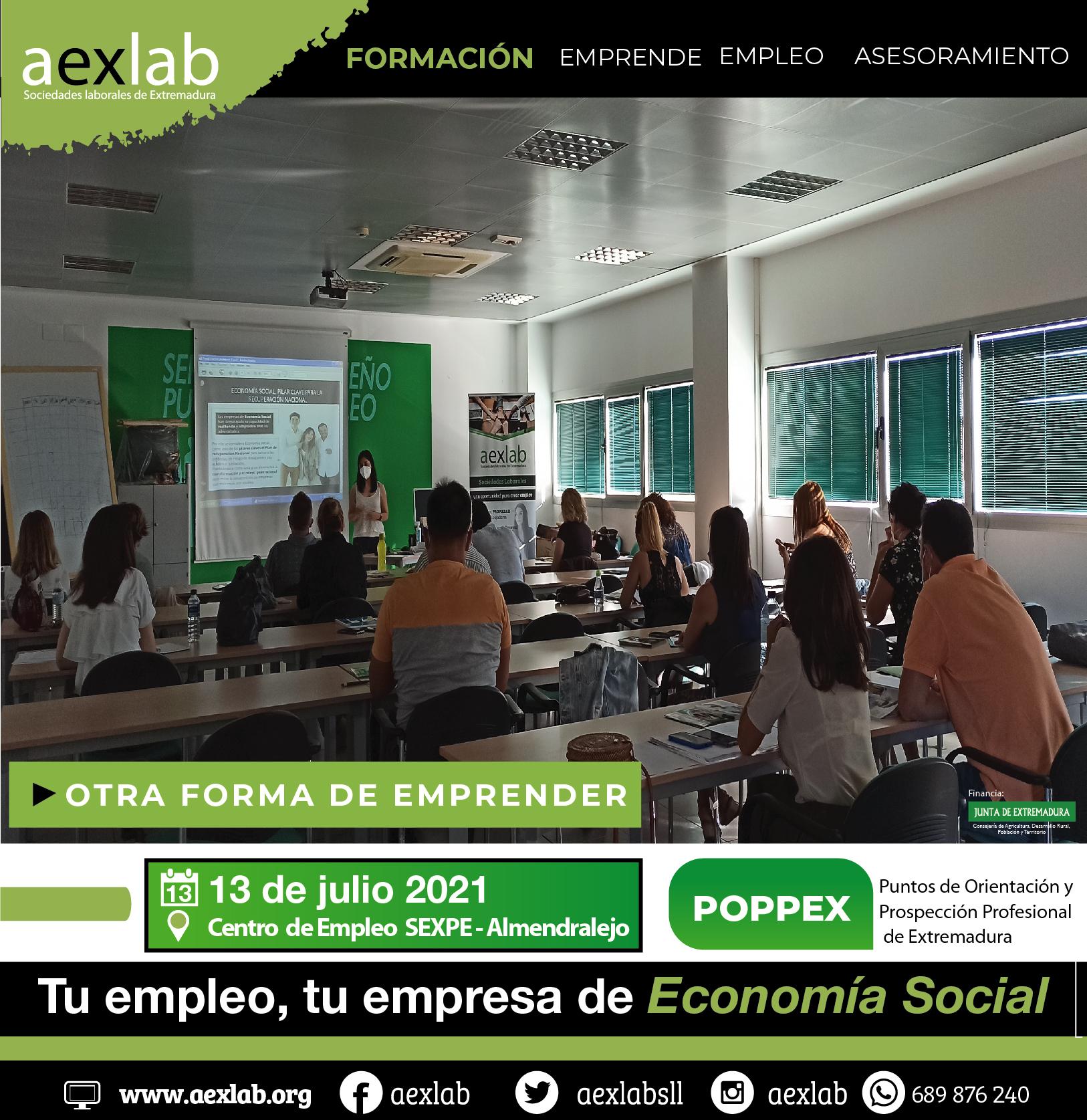 asistentes taller tecnicos programa poppex almendralejo 13 julio aexlab-03