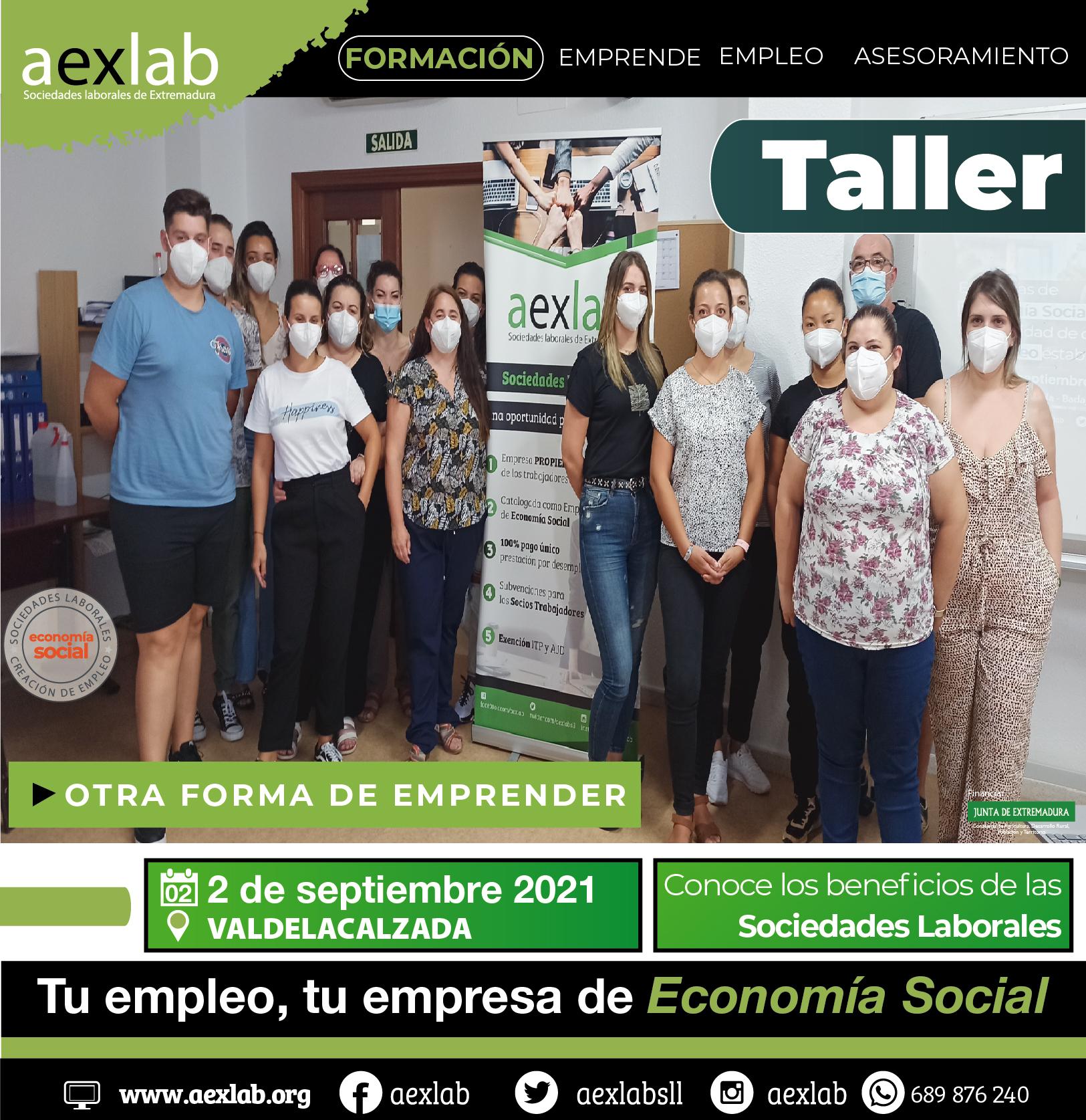 asistentes taller valdelacalzada aexlab 1