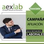 Campaña afiliación Aexlab